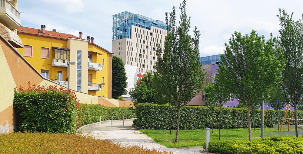 brescia - borgo centrale - area edificabile residenziale